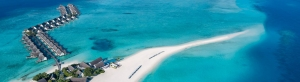 Explore, experience, and eyewitness a different side of the world at Four Seasons Resort, Maldives, at Landaa Giravaru